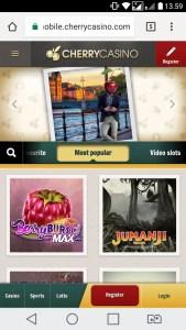 cherrycasino mobile casino