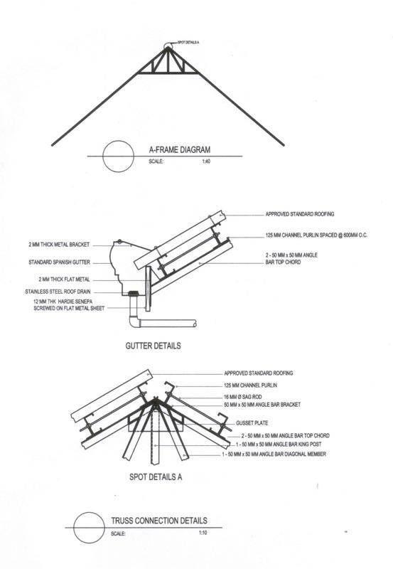 ST 02 second floor framing plan,roof framing plan
