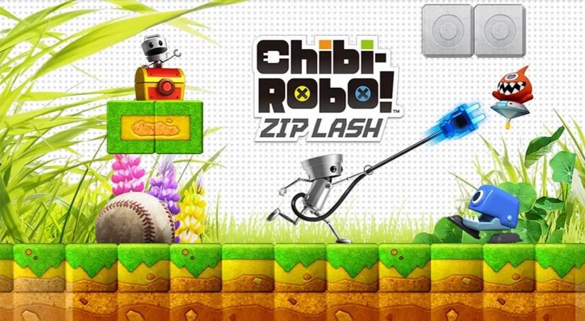 Chibi-Robo! Zip Lash logo