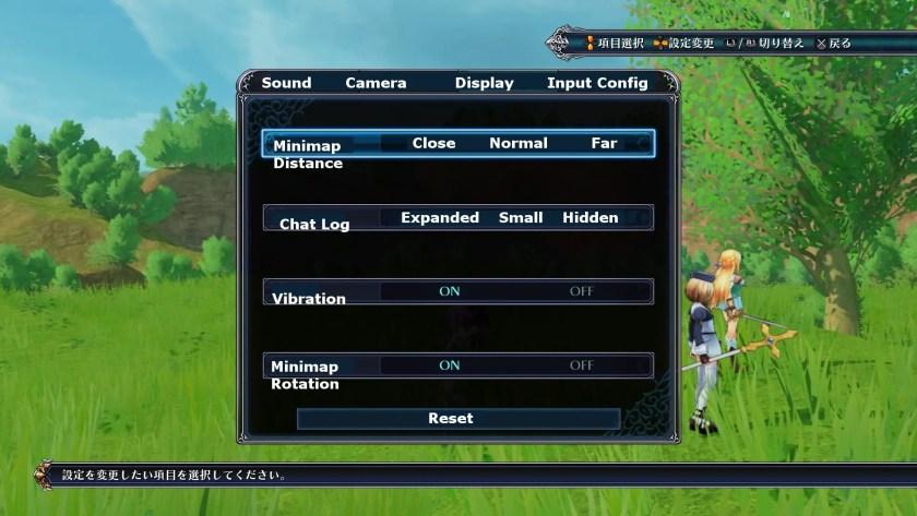 Cyber Dimension Neptunia Display Settings Translations