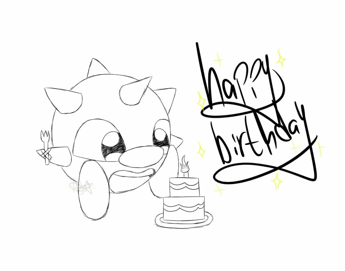 Fan Art: Happy Birthday from Rad!