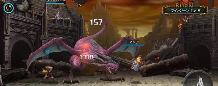 Castlevania: Grimoire of Souls fight scene