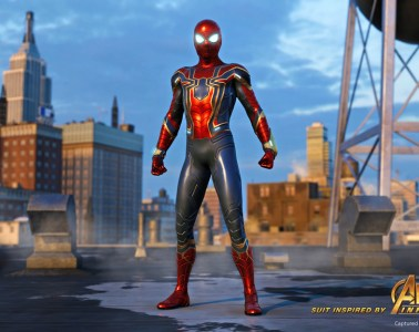 Marvel's Spider-Man Iron Spider costume