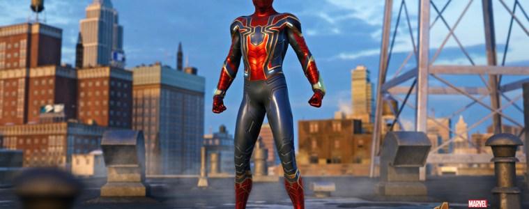 Marvel's Spider-Man Iron Spider costume