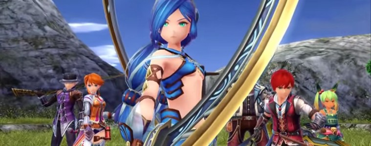Ys VIII: Lacrimosa of Dana with friends