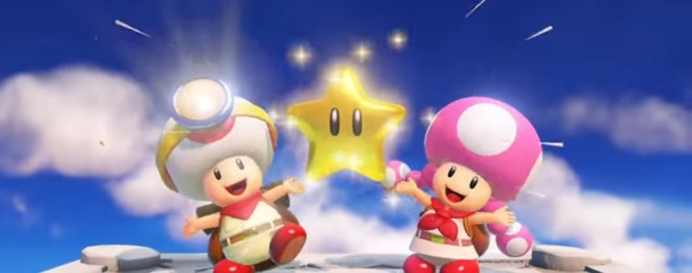 Captain Toad: Treasure Tracker gets star