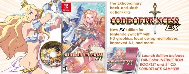 Code of Princess EX promotion