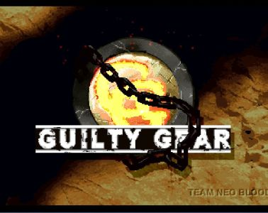 Guilty Gear title screen