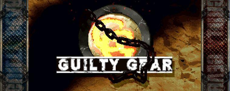 Guilty Gear title screen