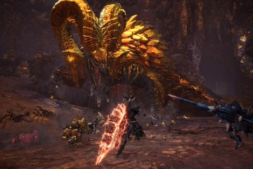Monster Hunter World fight