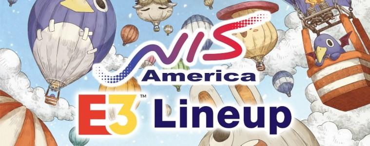 NIS America E3 2018 lineup