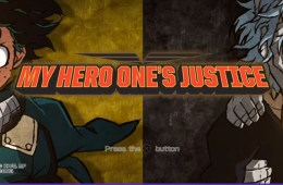 My Hero Academia: One's Justice title