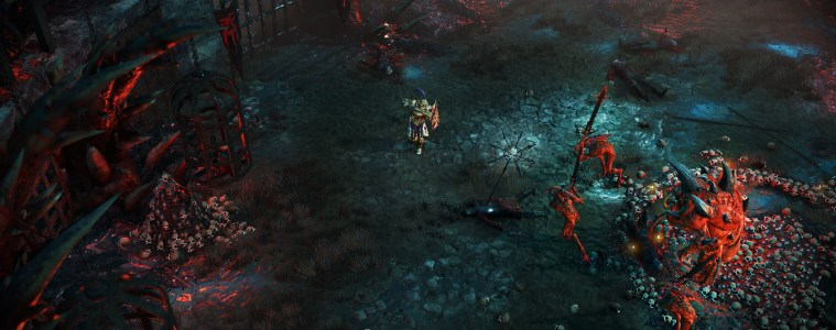 Warhammer: Chaosbane gameplay