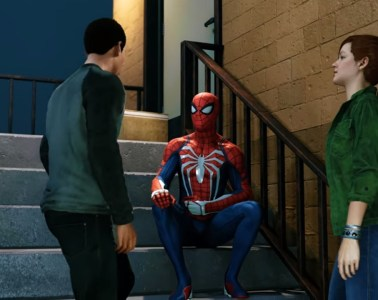 Marvel's Spider-Man Peter and the gang