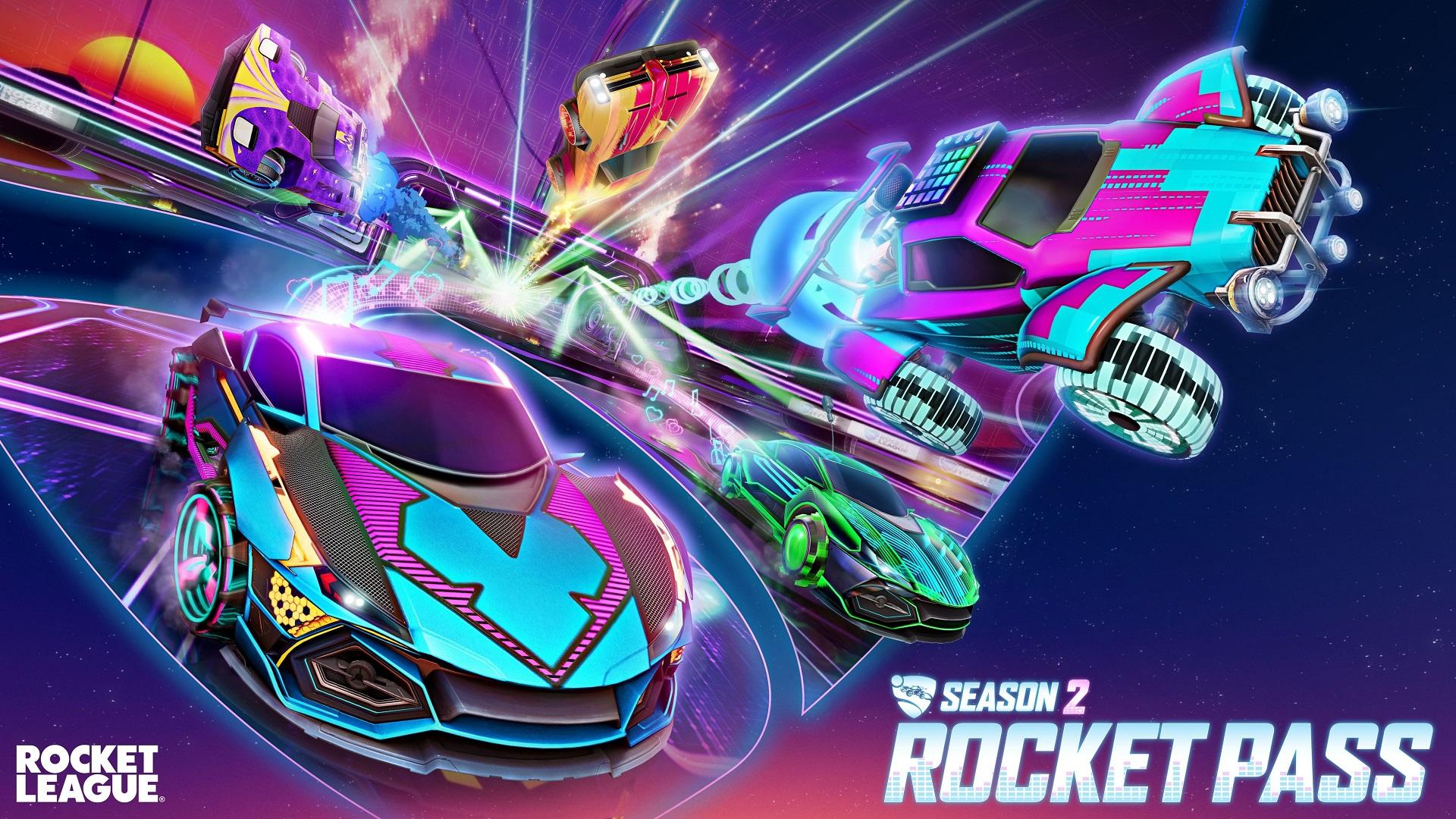 Rocket League Season 2 begins next week