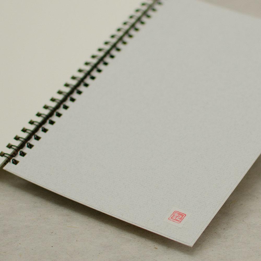 オーダーノート(A5)<br>chidori<br>(裏表紙/白銀)イメージ3