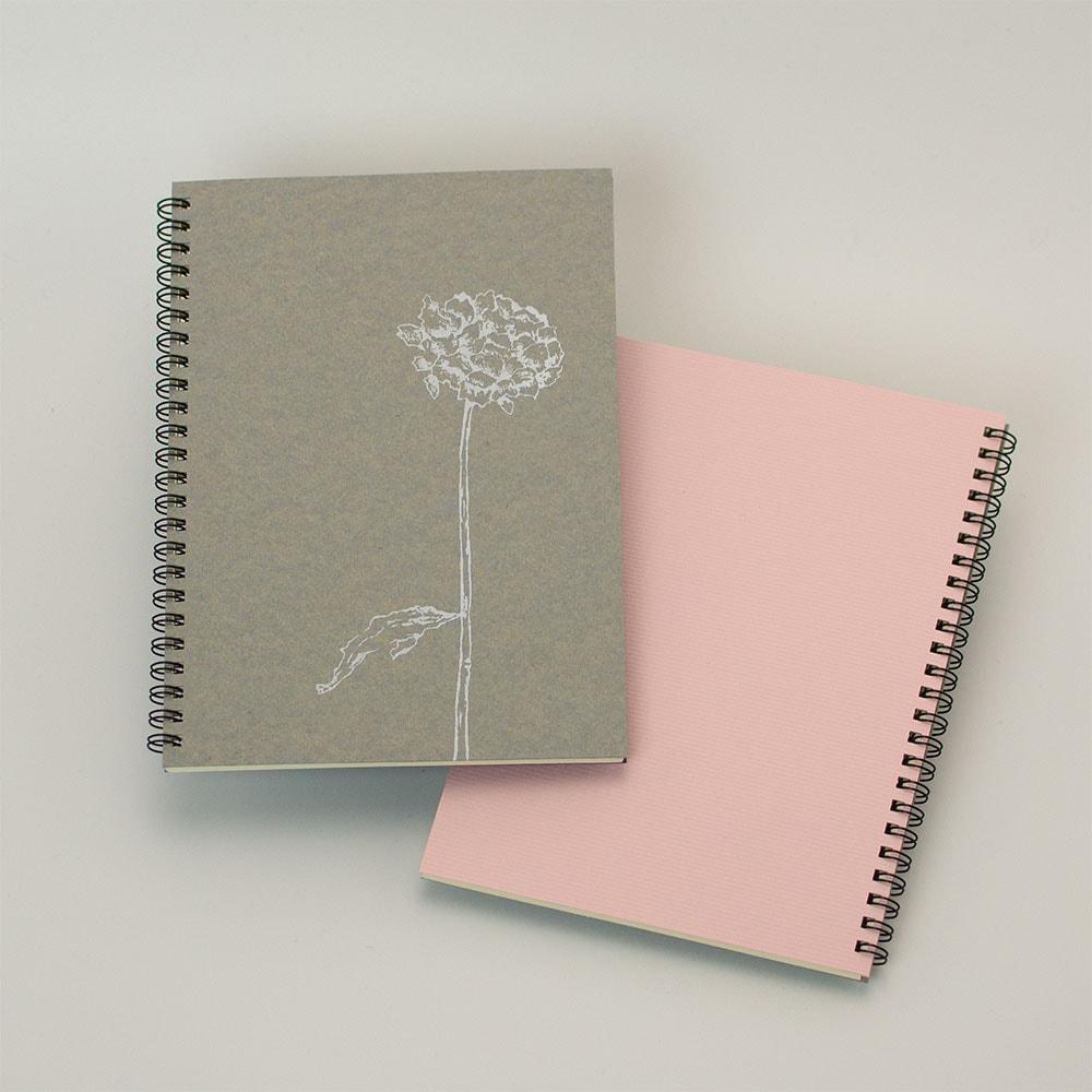 オーダーノート(A5)<br>dryflower<br>(裏表紙/ピンク)イメージ5
