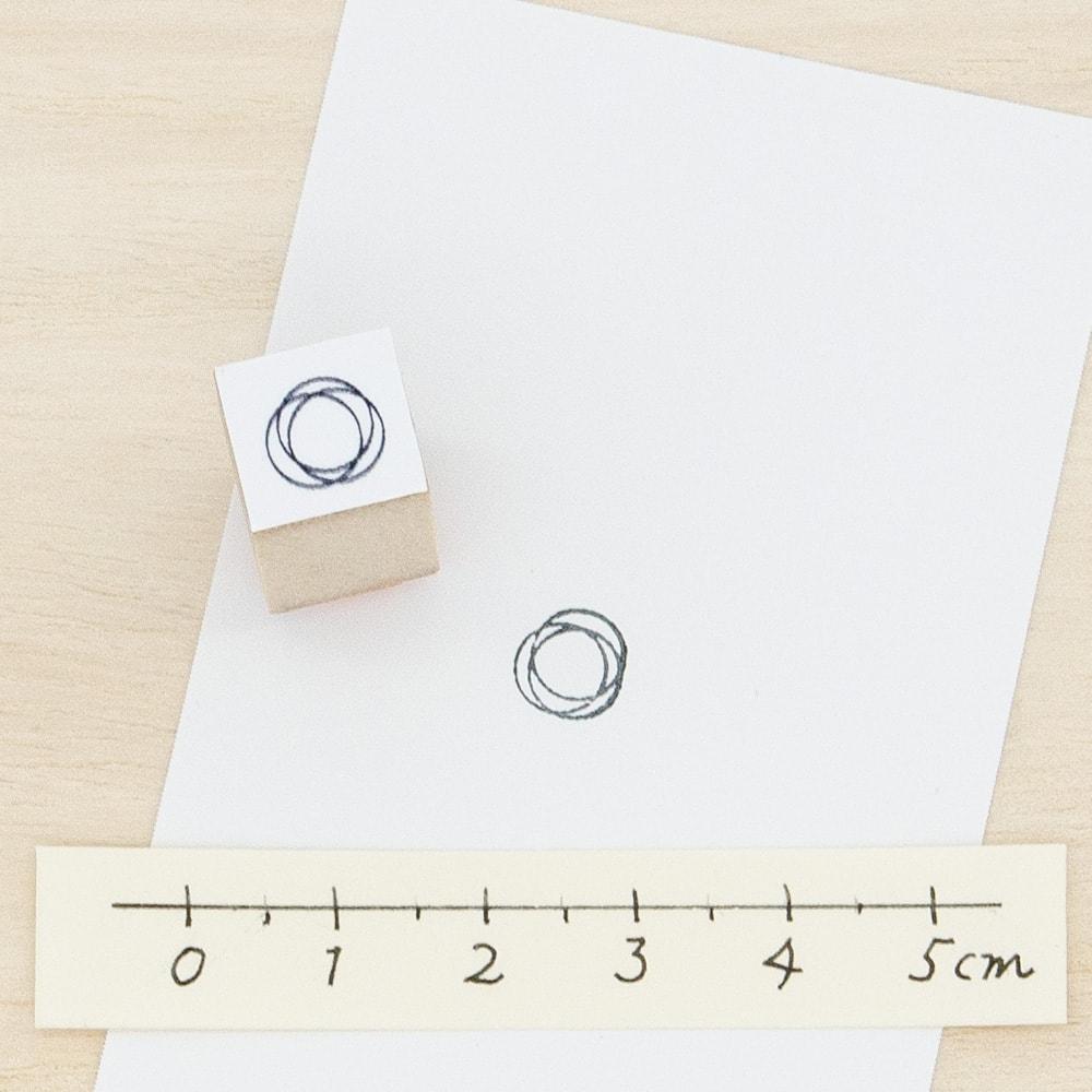 スタンプ<br>光の輪(S)イメージ1
