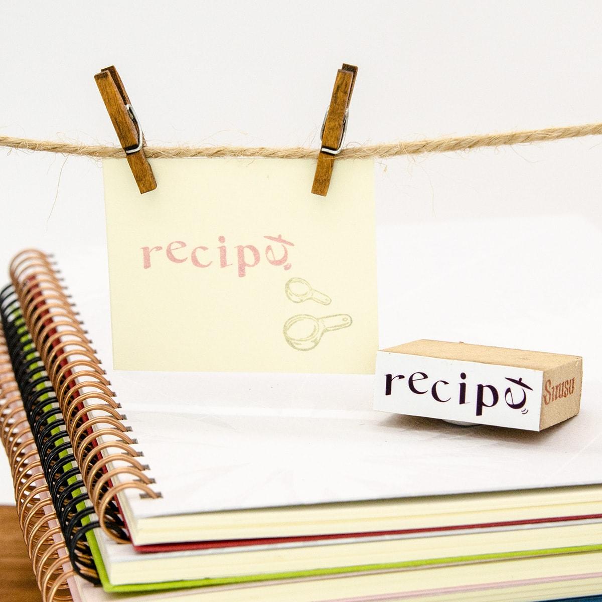 スタンプ<br>recipe(レシピ)イメージ1