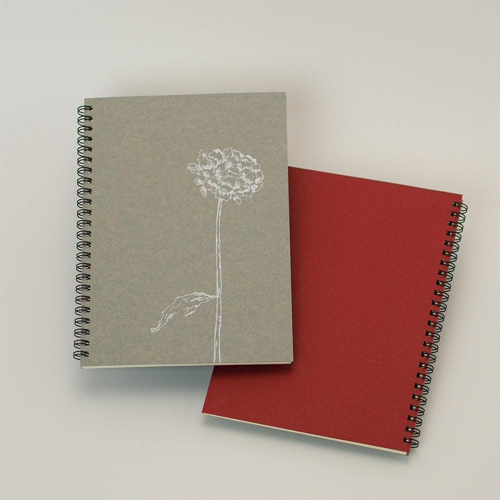 「dryflower」背表紙「濃赤」イメージ5