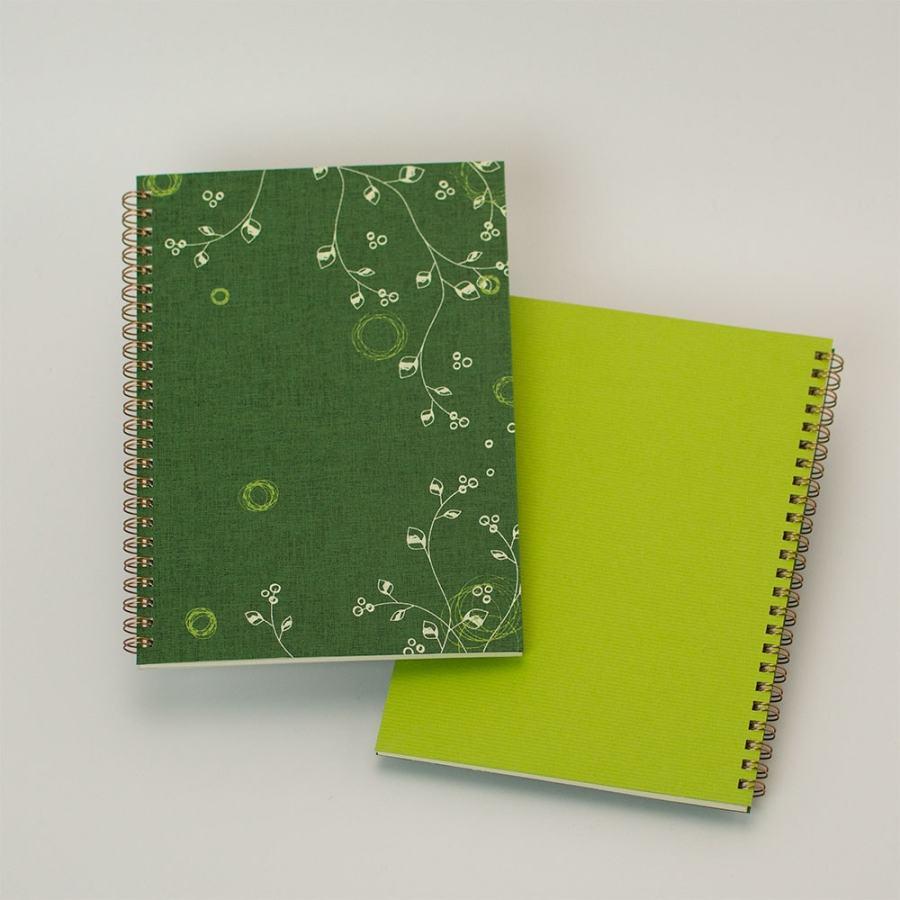 オープン記念ノート「evergreen」<br>背表紙「若草」