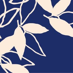 「葉模様×紺色」を選ぶ