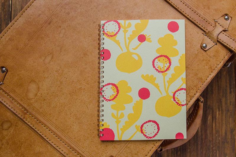 こだわりのリングノート。オリジナルデザインノート。radish。