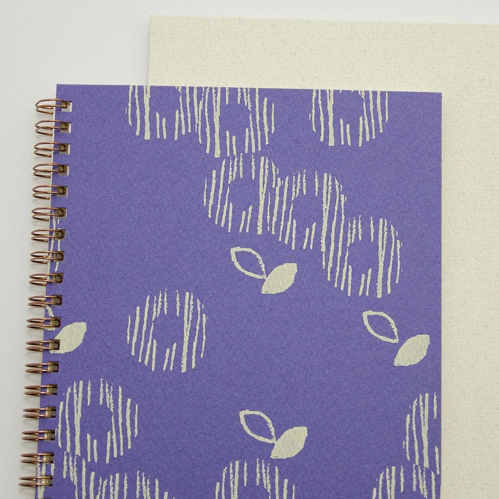 ゆるやか×紫色イメージ4