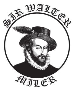 Sir Walter Miler logo