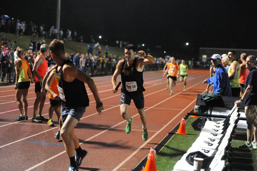 2015 Sir Walter Miler Run Club Relay