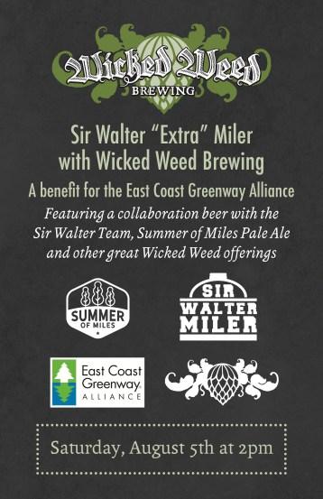 Sir Walter Miler Wicked Weed Summer of Miles Pale Ale