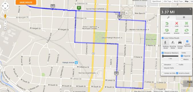 Hopscotch Route