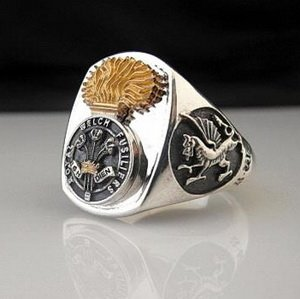 Royal Welch Fusiliers Bespoke Ring