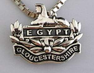 Gloucestershire Oxidized Pendant Broach