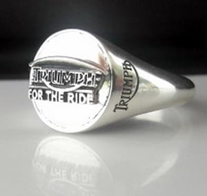 Triumph Sterling Silver Bespoke Pinkie Ring