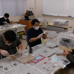 作業の様子(20160年3月6日)