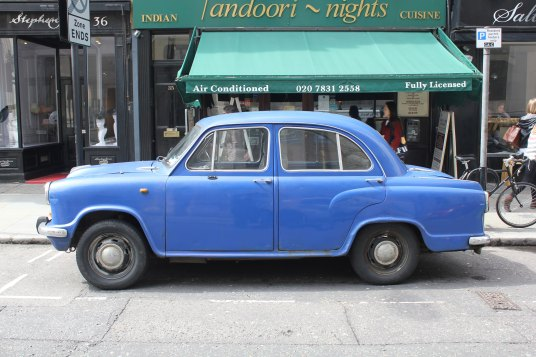 Car, Great Queen Street, London UK