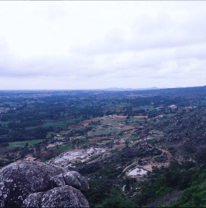 A photo taken in Mavinakere, a small village in the Indian state of Karnataka.
