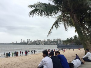 Enjoying BEAUTIFUL Chowpatty Beach and Marine Drive
