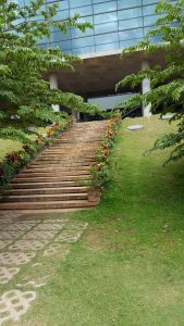 Stairs to heading to my Lab