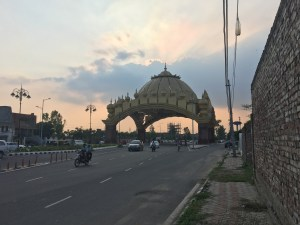 Amritsar Gate, the entrance to the city