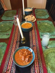 I learned how to cook some Indian food and so I made some for my friends and family.