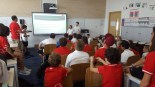 5C presenting to the Grade 7's