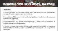 LEIA A MATÉRIA E O ARTIGO DO SISEP RIO  https://oglobo.globo.com/rio/guardas-municipais-fazem-campanha-pelo-uso-de-armas-de-fogo-21403064