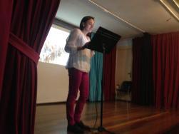 Carmen clausuró las intervenciones con su participación