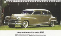 Salah satu mobil eks Bung Karno, Chrysler Windsor Limousine 1947, dimiliki oleh Pak Hauwke.