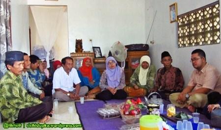 Pertemuan keluarga yang akrab...