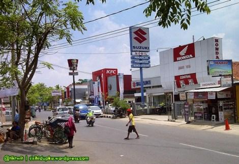 Salah satu sudut kota Subang...