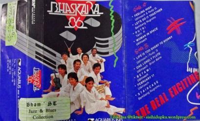 Cover luar kaset Bhaskara'86.