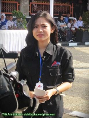 Nadya, reporter ATV Sukabumi.